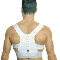 Right shoulder Back Belt Holder for Posture Support