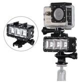 Geeek Underwater POV LED Lighting for GoPro Hero - Waterproof