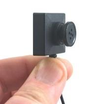 Komplette Spion-Knopf-Kamera-Set
