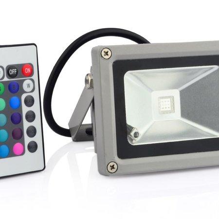 Geeek 10W LED Schijnwerper Bouwlamp RGB Verstraler