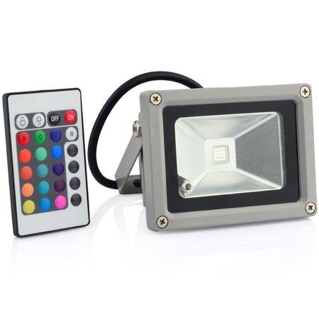 Geeek 10W LED Flutlicht RGB Bouwlamp Spotlight