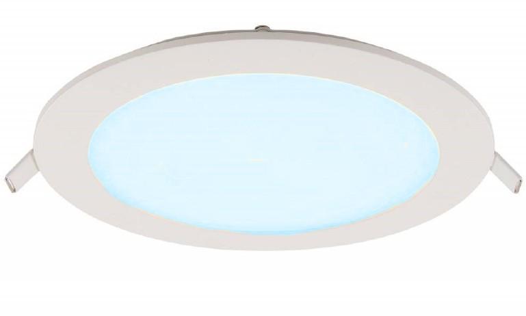 LED Paneel Rond 12W 155mm Koud Wit
