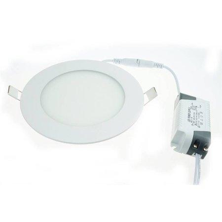 Geeek Runde LED-Panel 12W 155mm Warm White