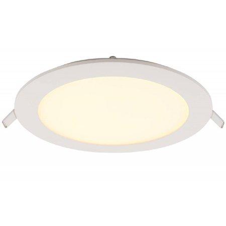 Geeek LED Paneel Rond 12W 155mm Warm Wit