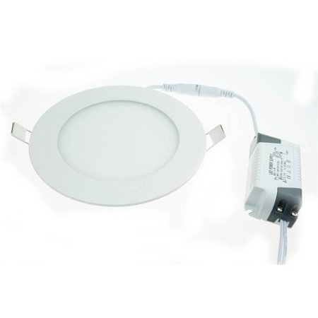 Geeek LED Panel Round 105mm 6W Cold White