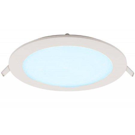 Geeek LED Paneel Rond 6W 105mm Koud Wit
