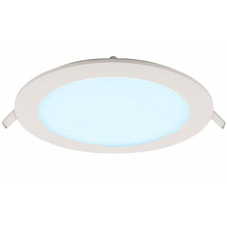 Geeek LED Panel Rund 105mm 6W Cold White