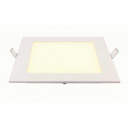 Geeek LED-Panel-Platz 145x145 mm 9W Warmweiss