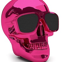 Aero XS Bluetooth Skull Skull Speaker Pink Rose