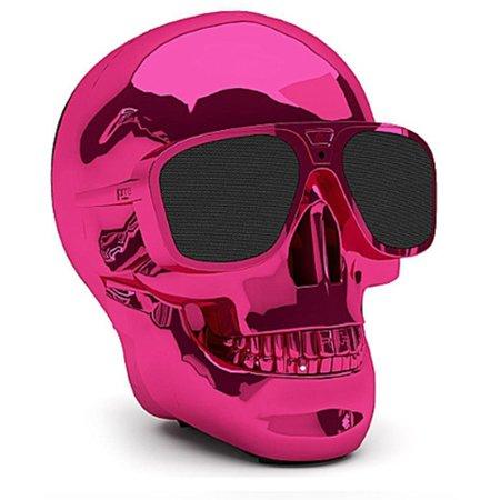 Geeek Aero Skull XS Bluetooth Schedel Luidspreker Pink Roze