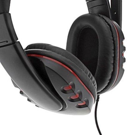 Geeek PC Gaming Headset Kopfhörer Over-Ear-Stereo-Kopfhörer