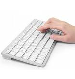 Geeek Drahtlose Bluetooth Tastatur QWERTY-Arabisch und Latein