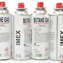 Imex Butaangaspatroon 227 g Butaangas voor Draagbare Gaskookplaat Camping (4 stuk)