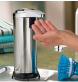 Geeek Luxury Automatic Soap Dispenser Touch Free Soap Dispenser Stainless Steel Look