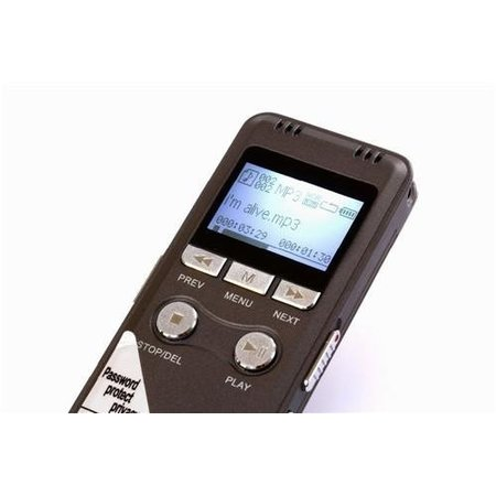 Geeek Professional Voice Recorder Memo Recorder8GB Memory