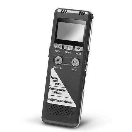 Geeek Professioneel Digitale Voice Recorder Memorecorder 8GB Intern Geheugen