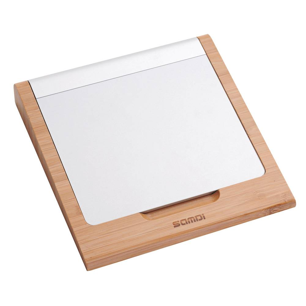 Design bamboe houten houder voor de apple imac trackpad.deze mooi vormgegeven imac trackpad houder is gemaakt ...