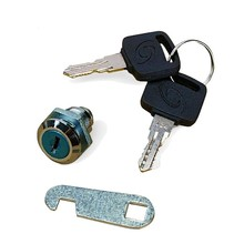 Lock for mailbox, locker or drawer cabinet
