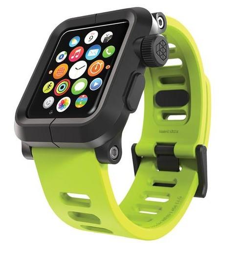 huge discount 469c8 f7de7 LunaTik EPIK Polycarbonate Case with Silicone Band Apple Watch 42mm Green