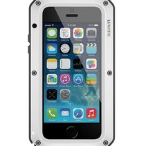 TAKTIK STRIKE Bescherm Case iPhone 5 / 5s / SE Wit