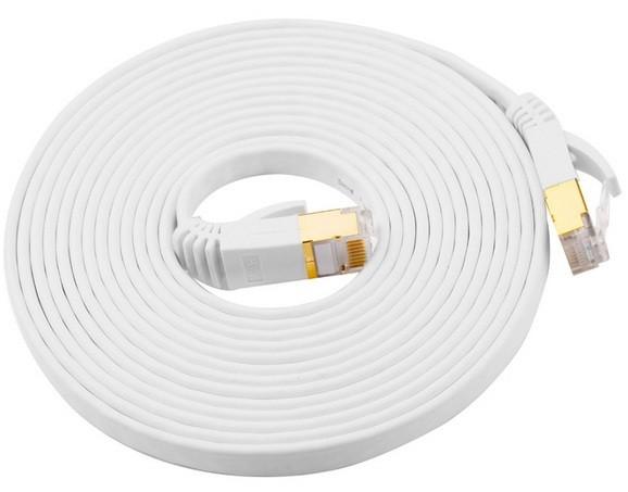 Cat7 10 meter platte high speed lan netwerk kabel utp witcat7 10 meter platte high speed lan netwerk kabel ...
