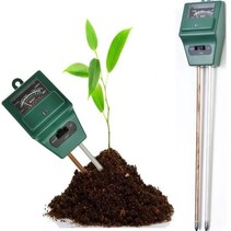 3-in-1 PH Meter Vochtigheidsmeter Planten Tester Vochtmeter Moisture Meter