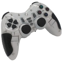 2,4 GHz Wireless Controller Gamepad Joystick Weiß Ultra Shock
