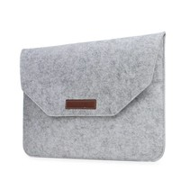15 inch MacBook Laptop Soft Sleeve Case Grey