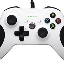 Wired Controller Wit voor Xbox One (S)