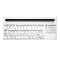 Multifunctioneel Bluetooth Wireless Keyboard - Windows / IOS / Android - Wit