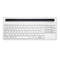 Multifunctioneel Bluetooth Wireless Keyboard - Windows / IOS / Android - Wit