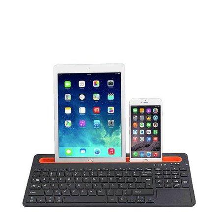 Geeek Multifunktionale Bluetooth Wireless Keyboard Weiß Windows-iOS Android