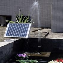 Sterke Solar Waterpompset Fontein Zonne-Energie