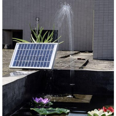 Geeek Starke Waterpompset Solarbrunnen Solar Energy