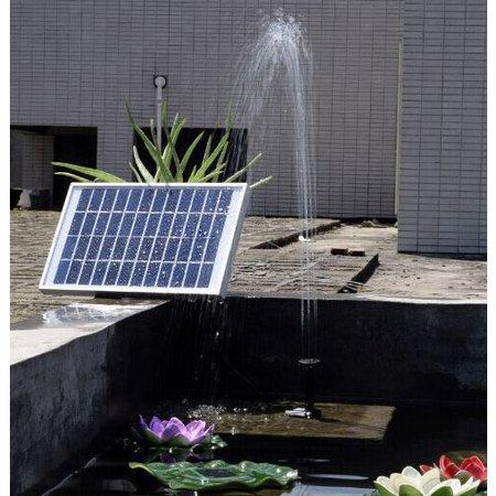 Geeek Sterke Solar Waterpompset Fontein Zonne-Energie