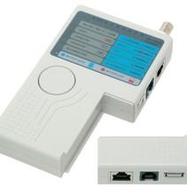 Cable Tester LAN USB BNC LAN Network Phone Meter
