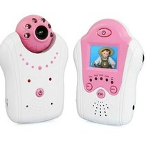 Compact Baby Monitor Baby Monitor with Camera Pink