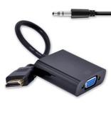 Geeek HDMI-auf-VGA-Adapter + (Audio) Adapter
