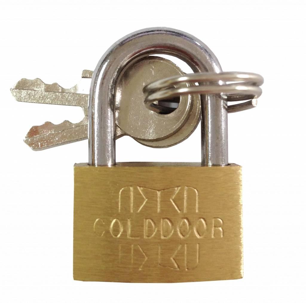 Handig slotje voor je kluisje, locker of koffer.kluisslot, locker slot, kofferslotstalen beugel, messing ...
