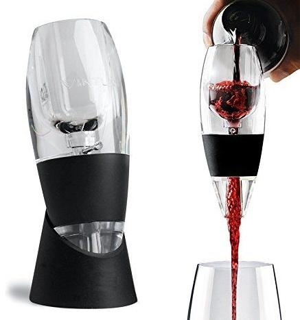 Serveer nu een perfect glas rode/witte wijn! deze magische decanteur zorgt voor een optimale ventilatie ...