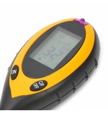 Geeek 4 in 1 Bodenanalyseinstrument Lichtintensität, Feuchtigkeit, pH-Wert und Temperatur