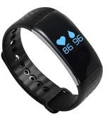 Geeek Smart-Eignung-Band-Pedometer Heart Monitor Blut-Sauerstoff-Monitor Silikon