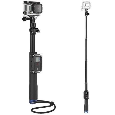 Geeek Extra Lange Selfie Stick met Remote Houder voor GoPro