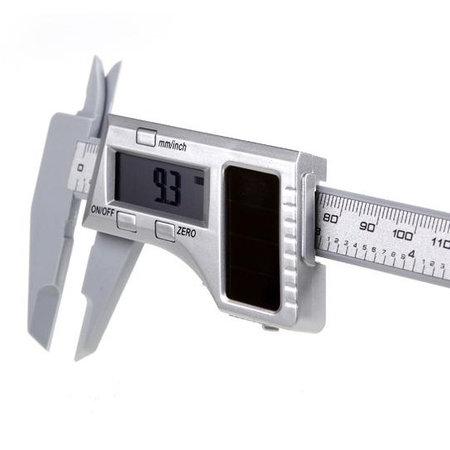 Geeek Digitale Schuifmaat Solar 150mm Carbon Fiber