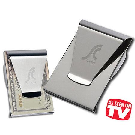Geeek Slim Clip Money Clip Pasje Holder 2 in 1