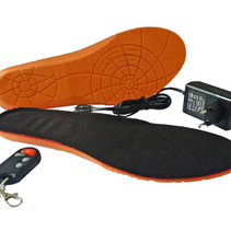 Electric Heated Insoles with remote for Men
