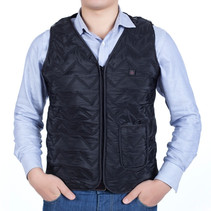 Electrically Heated Vest Vest Adjustable