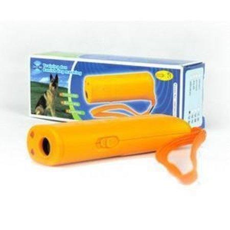 Geeek Ultrasone Hondentrainer / Hondenverjager LED verlichting