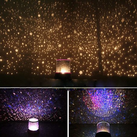 Geeek Cosmos Star Projector Star Master Starry Lamp