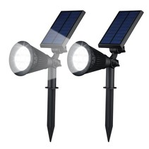 Solar Spotlight Led Tuinverlichting 2 Stuks